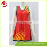 2015 Colorful cheap netball dress tennis clothing