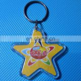 Sea Star Design Keychain Keyring Favors /Acrylic keyring with pictures for advertising stickers