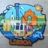 soft pvc refrigerator magnet sticker,rubber tourist souvenir fridge magnet