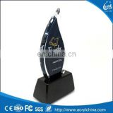 2015 Factory Directly Wholesale Acrylic Block Trophy, Acrylic Trophy Display, Acrylic Award