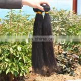 Alibaba India Unprocessed 100% Virgin Raw Human Hair Straight Natural Black Hair