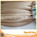 Grade AAAAA Color #60 100% Remy Human Tape Hair Extension
