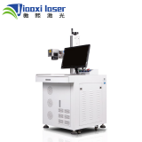 220V Single Phase 50/60Hz 30W desktop fiber laser marking machine from Shanghai