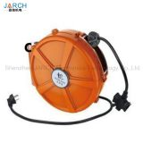 Top sell plastic cable reels rewind retractable plastic cable reel with socket