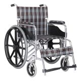 Good quality manufacturer's hospital manual wheel chair  lightweight folding manual wheelchair for patients