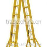 Corrosion resistance high strength insulation industrial fiber glass ladder                                                                         Quality Choice