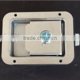 03115S Truck or Trailer Flush Mount Polished Stainless Steel Key-Locking Recessed Toolbox Cam Lock