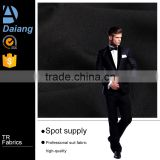 wholesale cheap twill black TR suiting fabric for man 2016 in stock
