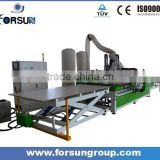 Automatic Panel Furniture Production Line with loading & offloading system & auto labeler & driller