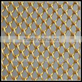 beautiful decorative wire mesh for exhibition hall use