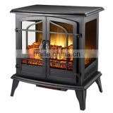 CSA and CE approved decor flame electric fireplace heater supply to Home Depot for 60,000 pcs per year