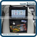 Back Seat Car Organiser with Tablet holder Travel iPad Galaxy Storage
