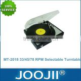 Retro Vinyl Record Player With PC Link, 3 Speed Turntable Player With Wholesale Price