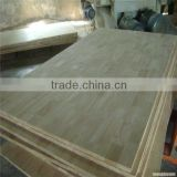 Trade Assurance High quality and cheap rubber finger jointed plywood for kitchen cabinets