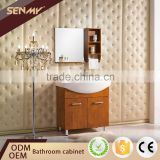 Unique Wood Vanity Makeup Table Basin Sink Wooden Furniture Model