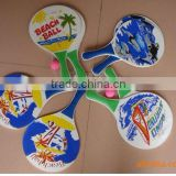 Beach Rackets, Beach bat, Beach game sets,plastic beach racket