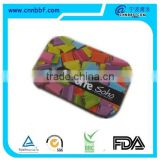 Promotional lovely cookie biscuit or clothes tin box for beautiful color