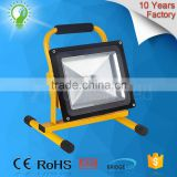 Energy Saving High Brightness ip65 portable rechargeable 10w 20w 30w 50W outdoor led flood light