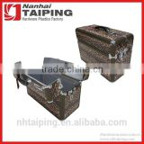 Leopard PVC Leather Top Open design Ladies Briefcases Uk Small Metal Briefcase Ladies Briefcase