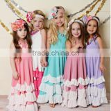 New style baby girl summer dress child dress fashion design one piece girls party dresses