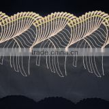 20cm organza with embroidery technology for Lace trim