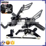 ARS-CBR1000-08 High Quality Adjustable Rearset Foot Pegs Rear Sets Motorcycle Footpeg For Honda CBR1000RR 2008-2014