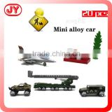 New design metal military tank toy with 5 styles transport model