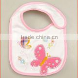 Embroider cotton baby bib baby wipe babyland new products