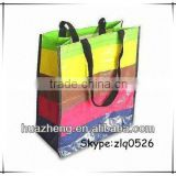 PP Woven Shopping Bags, Suitable for Gifts, with Printed Design and Glossy/Wholesale Shopping Bags/Tote Bags in Zhejiang China