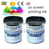 environmental France Dubuit UV silk screen printing Ink for glass                                                                         Quality Choice