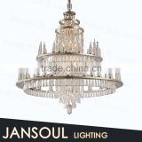 chinese style traditional crystal pendant light fancy luxury empire crystal chandelier large hotel church chandelier
