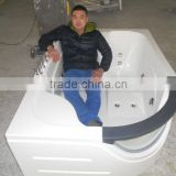 5-Star Hotel Room Hydromassage Bathtub for Two Person