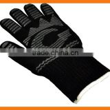 Silicone Grip Heat Resistant Fireplace and Barbecue Gloves                                                                         Quality Choice