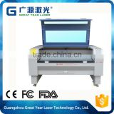 High quality competitive price D series high speed CO2 laser cutting and engraving machine / Fabric, cloth, leather laser cutter