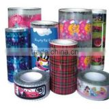 wholesale Heat transfer paper hot stamping foil for plastic bottle eva heat transfer printing film