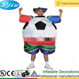 DJ-CO-217 World European cup inflatable football costume party outfit