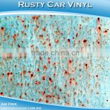 Newest Full Car Body Wrapping Anti Theft Sticker Rusty Decoration Self-adhesion PVC Film
