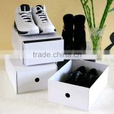 custom handmade paper folding shoebox/cute cardboard shoe box/