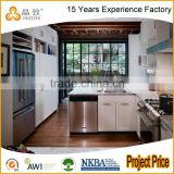 High End Modular Cabinets Design Apartment Wooden Kitchen