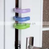 Top selling silicone baby/kid security Door Draft Guard stopper/Baby Accessory silicone door bumper baby care door stop