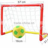kids mini plastic soccer goal/football goal with nylon net