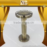 top design home decoration diamond tension metal curtain rod bracket