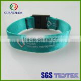 China wholesale promotional cheap festival fabric wristbands, passive rfid wristband, uhf rfid wristband