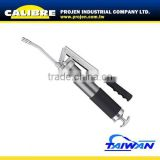 CALIBRE Extra Heavy-Duty Dual Piston Grease Gun 400cc Iron-Cast Dual Piston Air Operated Grease Gun