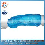 Disposable oversleeve for food industry blue color virgin material