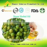 GMP Manufacture 100% Natural insecticide Neem Oil 99%