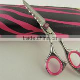 "Top Quality Hairdressing Shears Scissors With Leather Case Packaging 6.5"" free Shipping 50 Pieces"