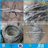 low price high quality double twist barbed wire,concertina razor barbed wire(Guangzhou factory)