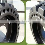 Top Seller China Rims Solid Car Rubber Tires, Industrial Tire 10.00-20 with Good Price