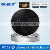Full HD Indoor Cube PIR Sensor Home Infrared 2 Way Audio 1080P Wireless IP Camera WiFi Temperature Humidity Alarm Camera